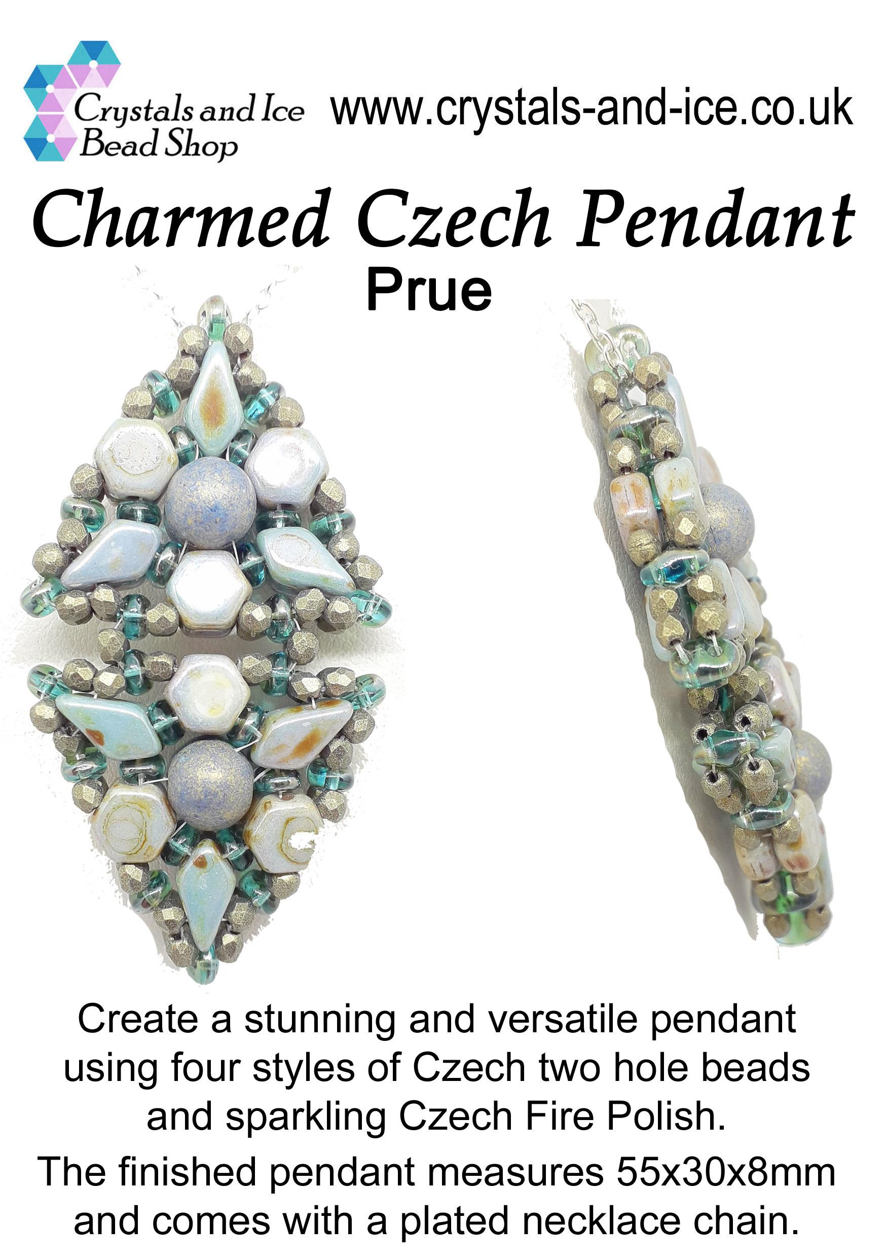 Charmed Czech Pendant Kit - Prue