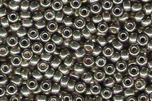 Miyuki Seed Beads 8/0 in Light Smoky Pewter Duracoat Galvanised
