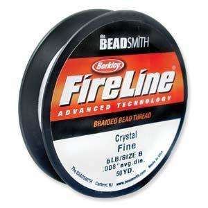FireLine Braided Bead Thread - Crystal Size D (0.008 inch)