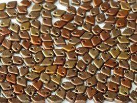 1.5x5mm Dragon Scale Bead in Metallic Mix