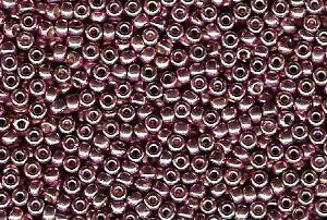 Miyuki Seed Beads 15/0 in Dusty Orchid Duracoat Galvanised