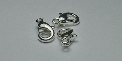 12mm Trigger Clasp in Silver Plate