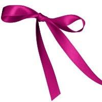 11mm Double Satin Safisa Ribbon in Cerise