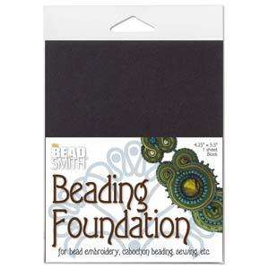BeadSmith Beading Foundation - Black (4.25x5.5 Inch Sheet)