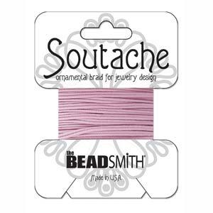 Polyester Soutache Braid - Mauve (3 yards)