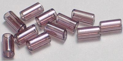 3mm Miyuki Bugle - Grape Transparent