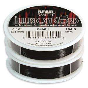 Illusion Cord - Black 0.25mm - 50m