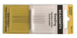 4 High Quality Beading Needles #12