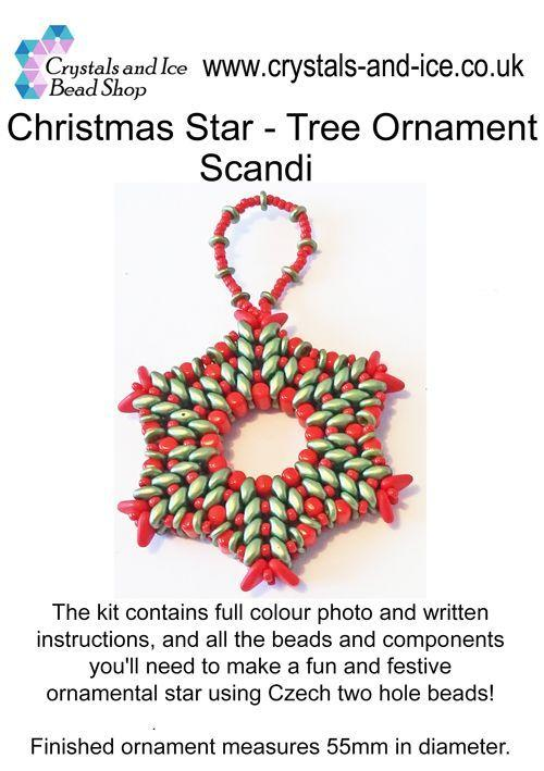Christmas Star - Tree Ornament (Scandi)