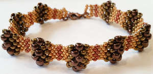 Peyote Waves Bracelet Pattern