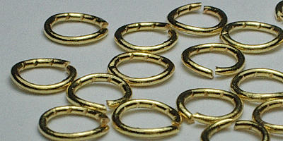 5mm Jump Ring in Gold Plate