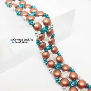 Candy Hugs Bracelet Kit - Copper Emerald