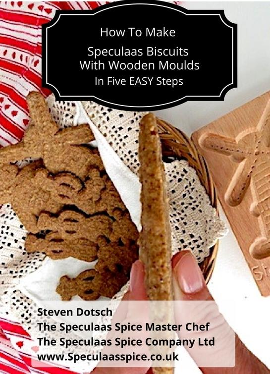How to make speculaas with wooden moulds