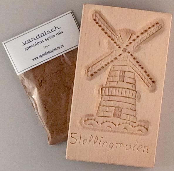 Speculaas windmill biscuits