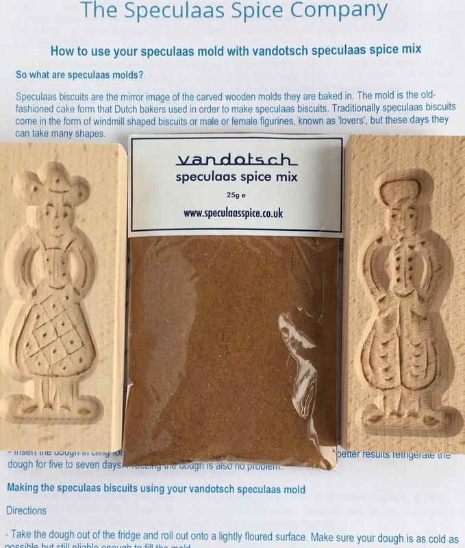 Woman and Man Mold and vandotsch speculaas spice pack