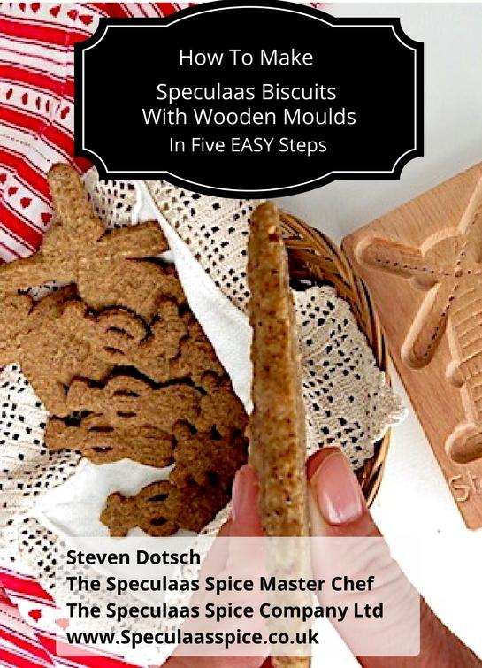 How to make speculaas biscuits with wooden moulds
