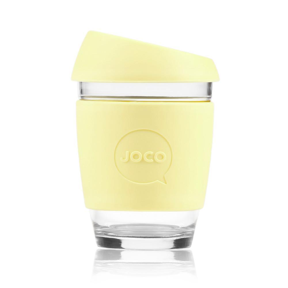 JOCO Cup Reusable Travel Mug - 12oz Custard | Only £19.99