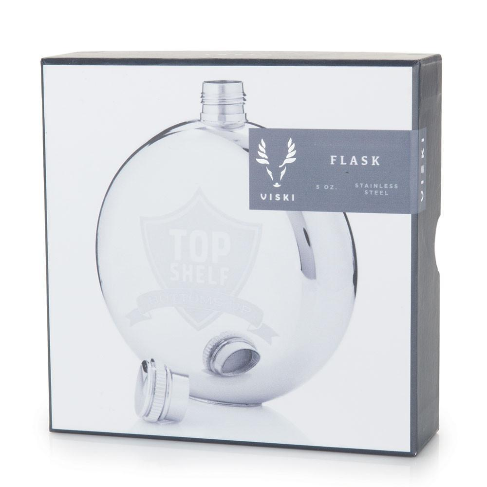 Harrison Top shelf, Bottoms Up Flask