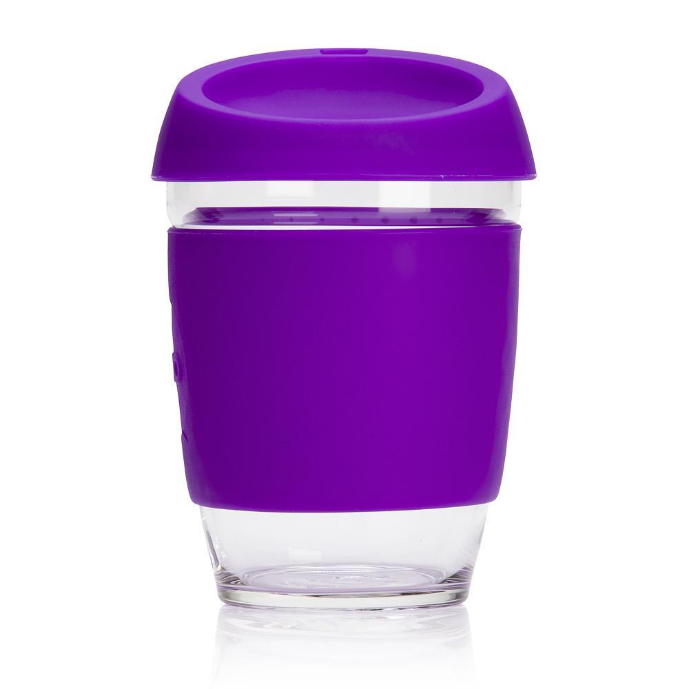 JOCO Cup - The Glass Portable Coffee Cup - Purple