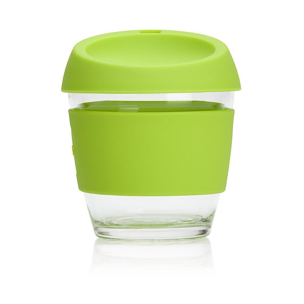 JOCO Cup 8oz Lime Green Portable Coffee Cup