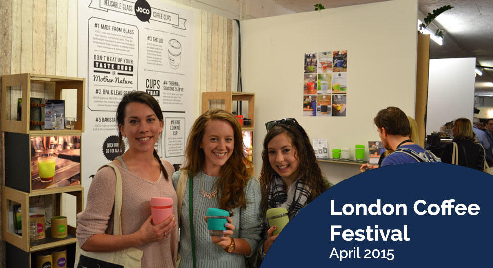 Uberstar London Coffee Festival Stand 2015
