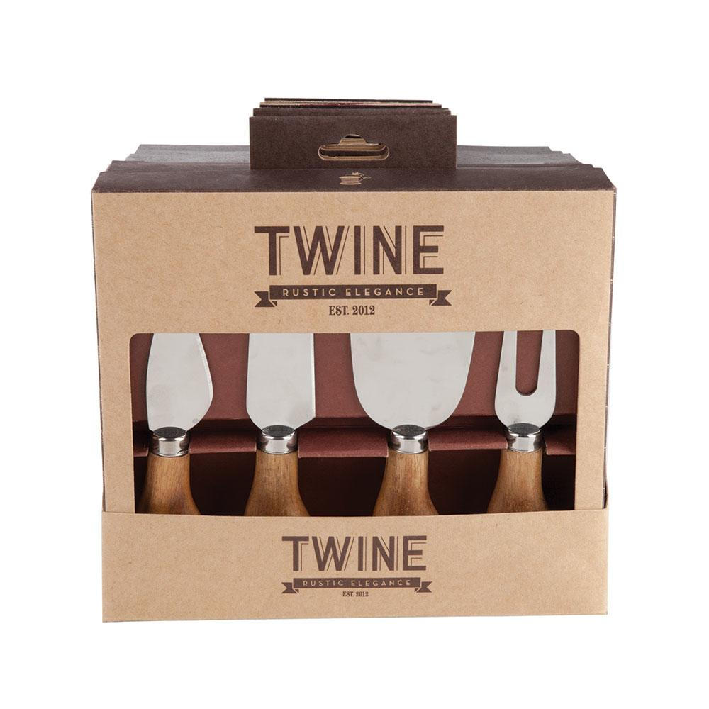 Twine Gourmet Cheese Knife Selection