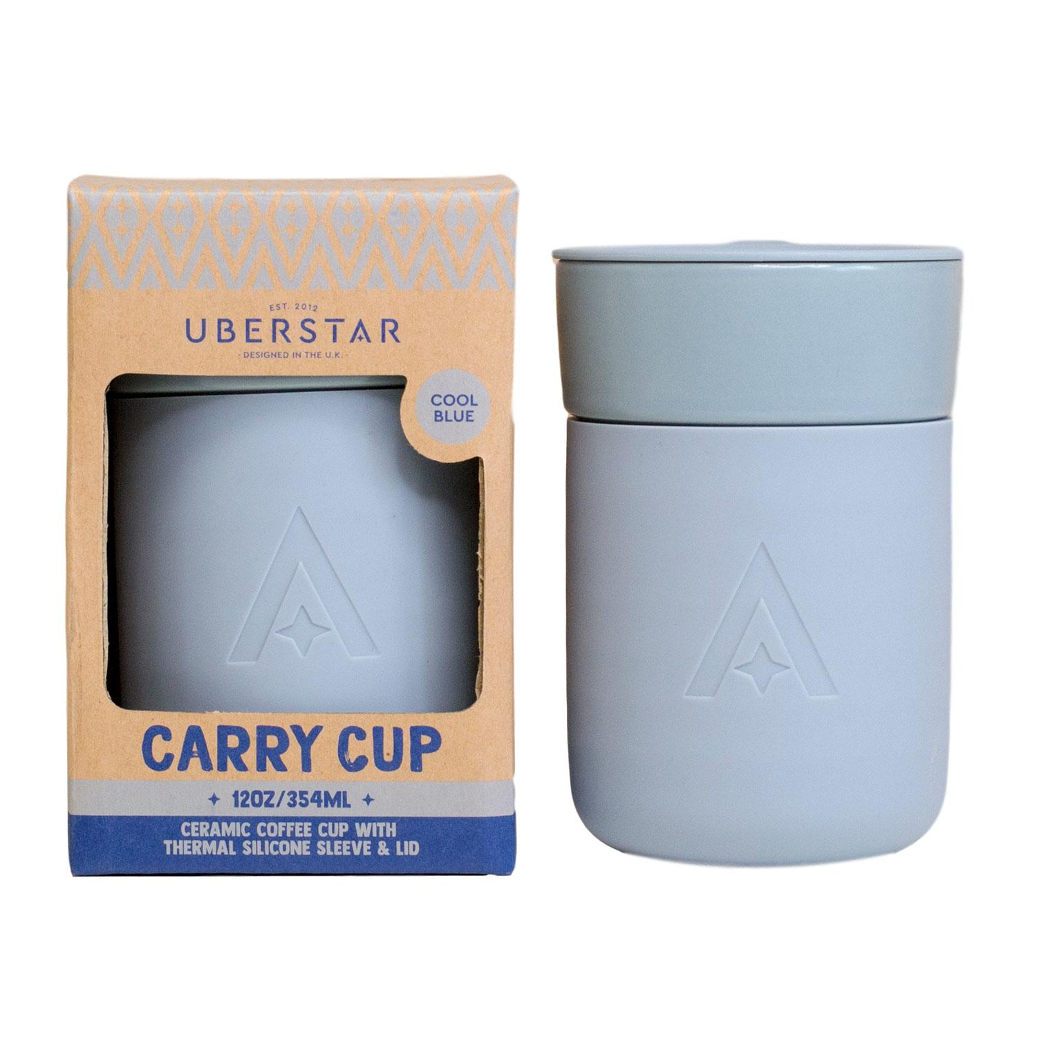 Carry Cup - The Universal Travel Mug by Uberstar (Cool Blue)