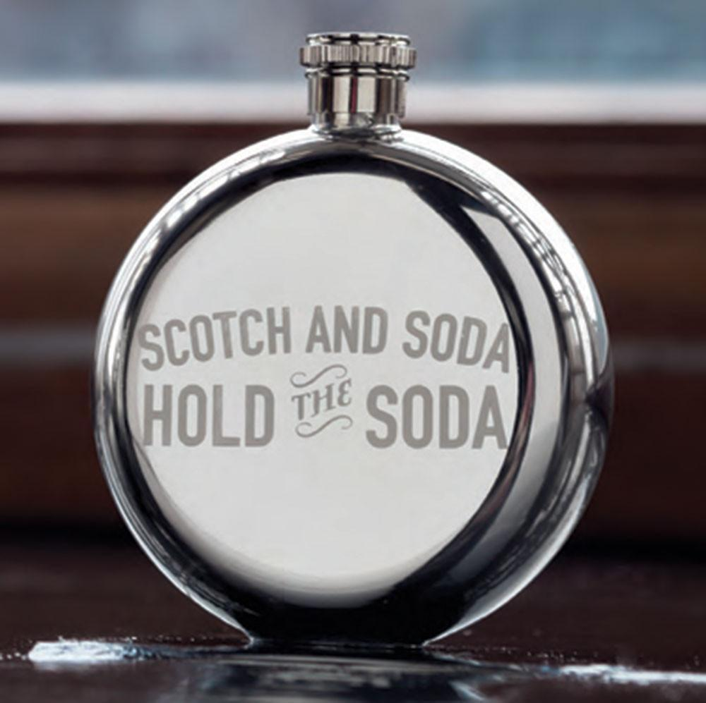 Harrison Scotch & Soda Flask - Only £15.00