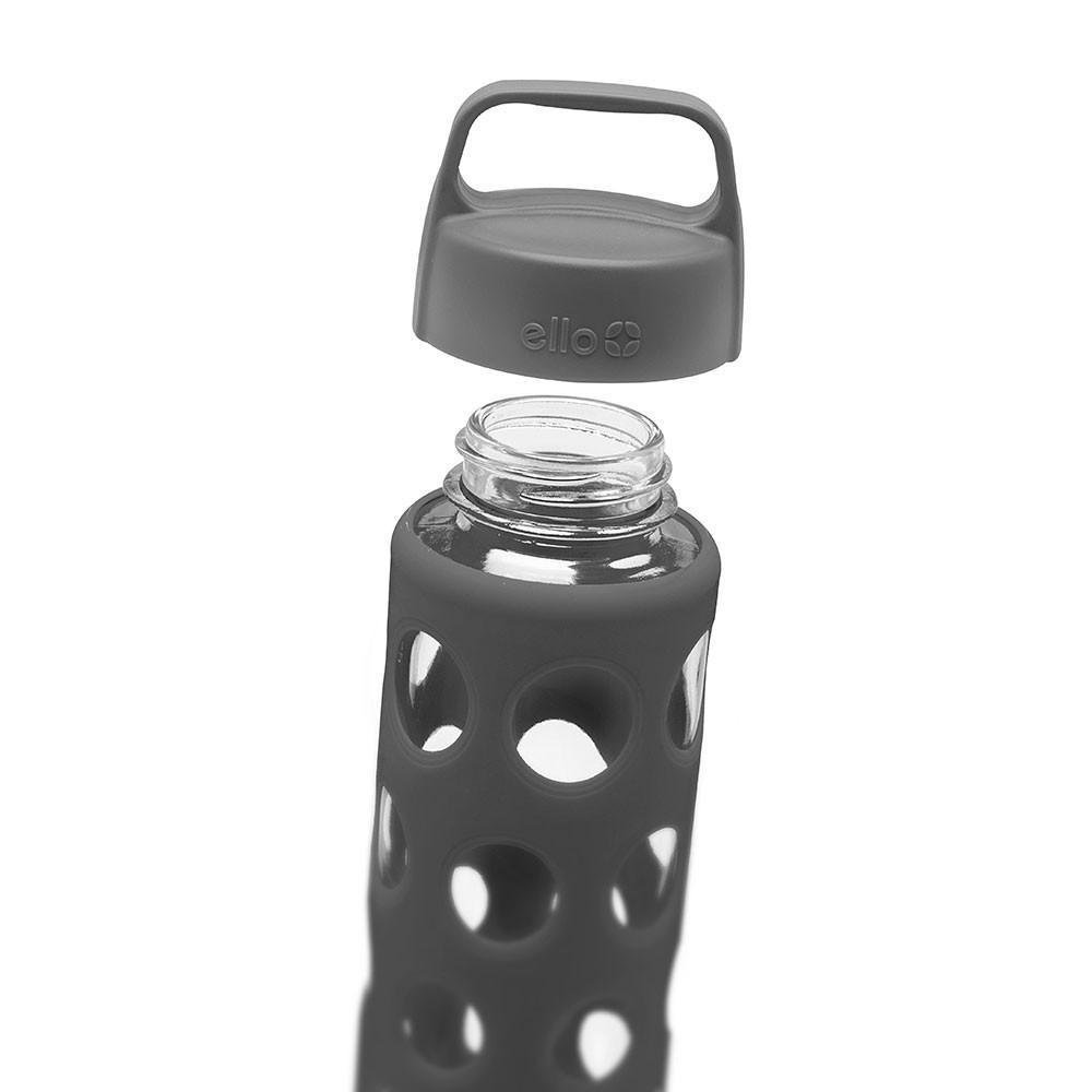 ELLO Pure Glass Water Bottle - Grey - Only £11.99 | Uberstar