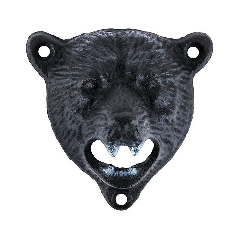 Wall Mounted Bear Bottle Opener - Only £9.99