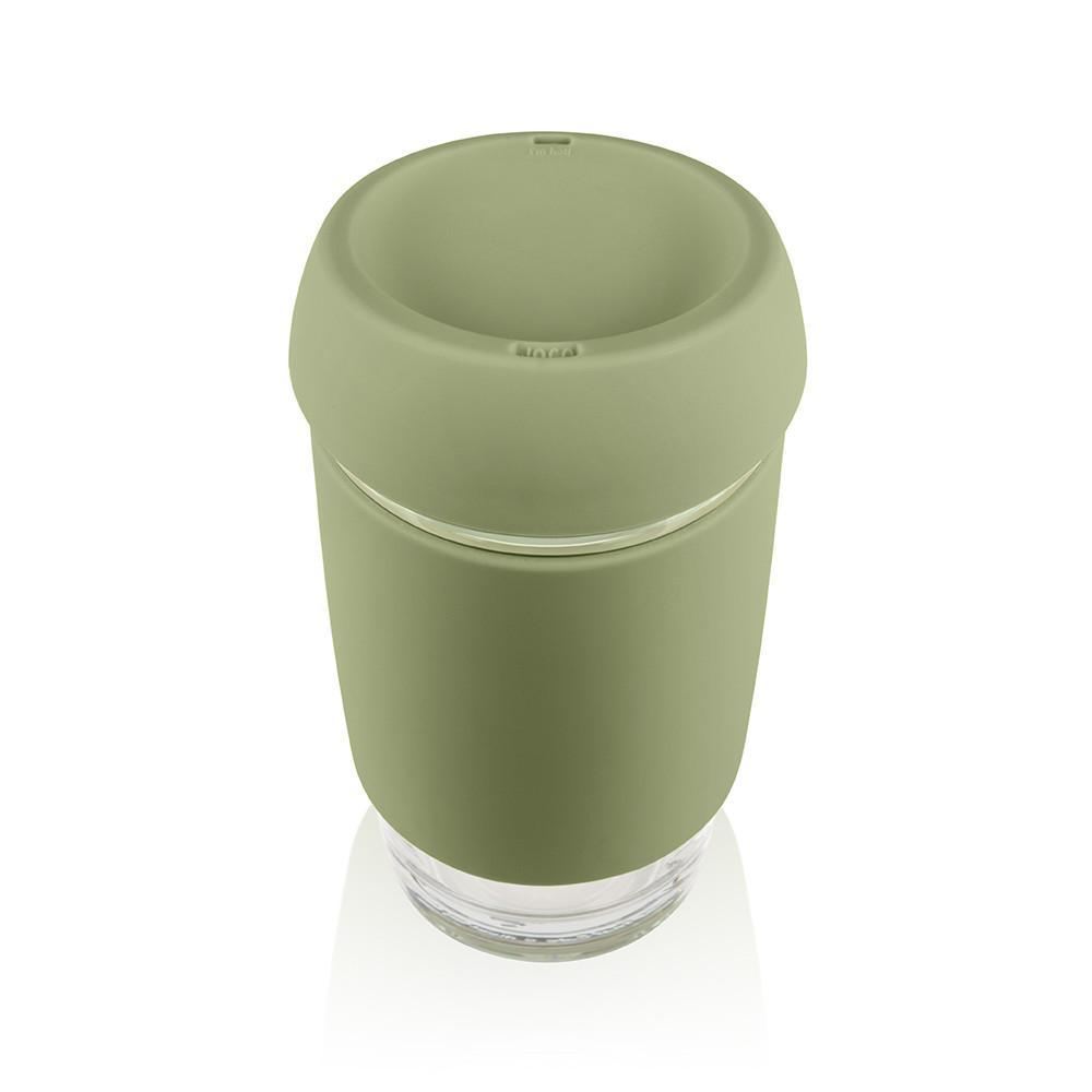 JOCO Glass Travel Mug - 16oz - Army Green