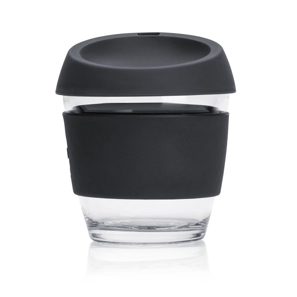 JOCO Cup 8oz Black Portable Coffee Cup