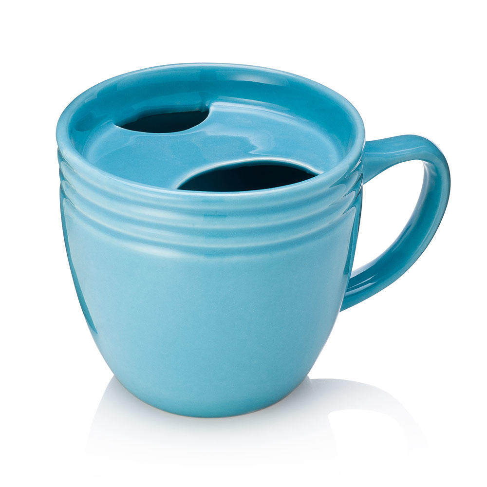 Best Morning Ever Mug Blue - Holds Cookies, Doughnuts, Muffins, Biscuits | Uberstar.com