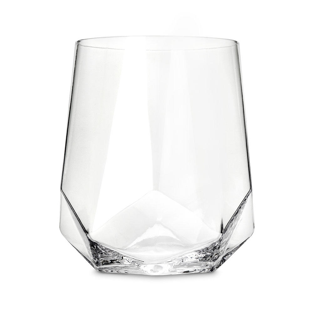 Diamond Wine Glasses