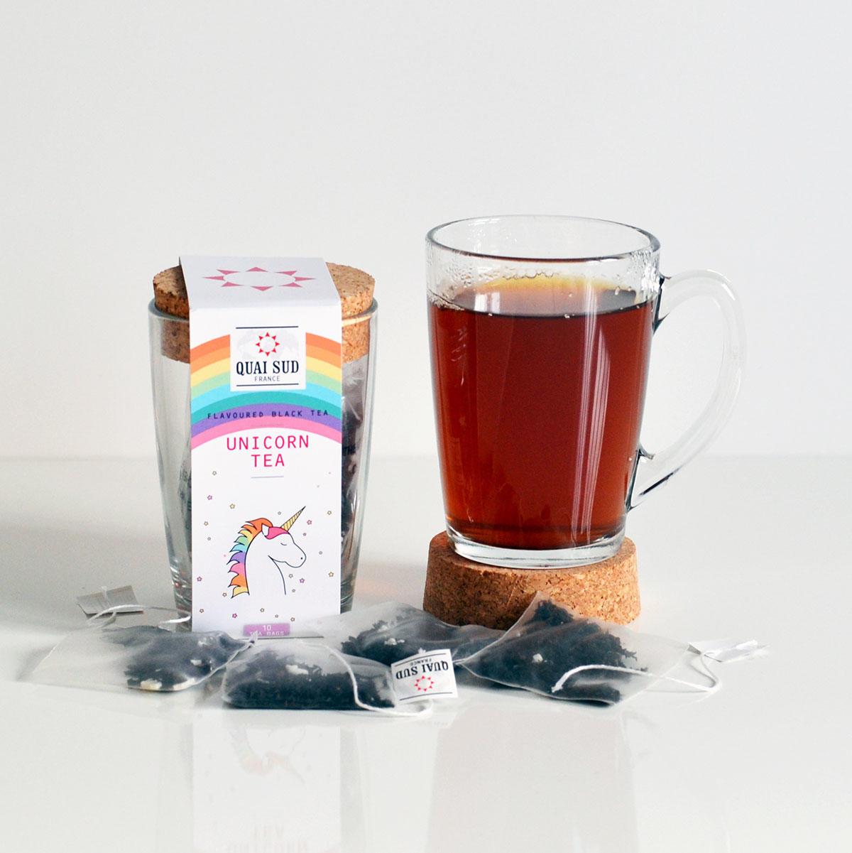 Unicorn Tea - Bubblegum Flavoured Tea | Only £11.99 www.uberstar.com