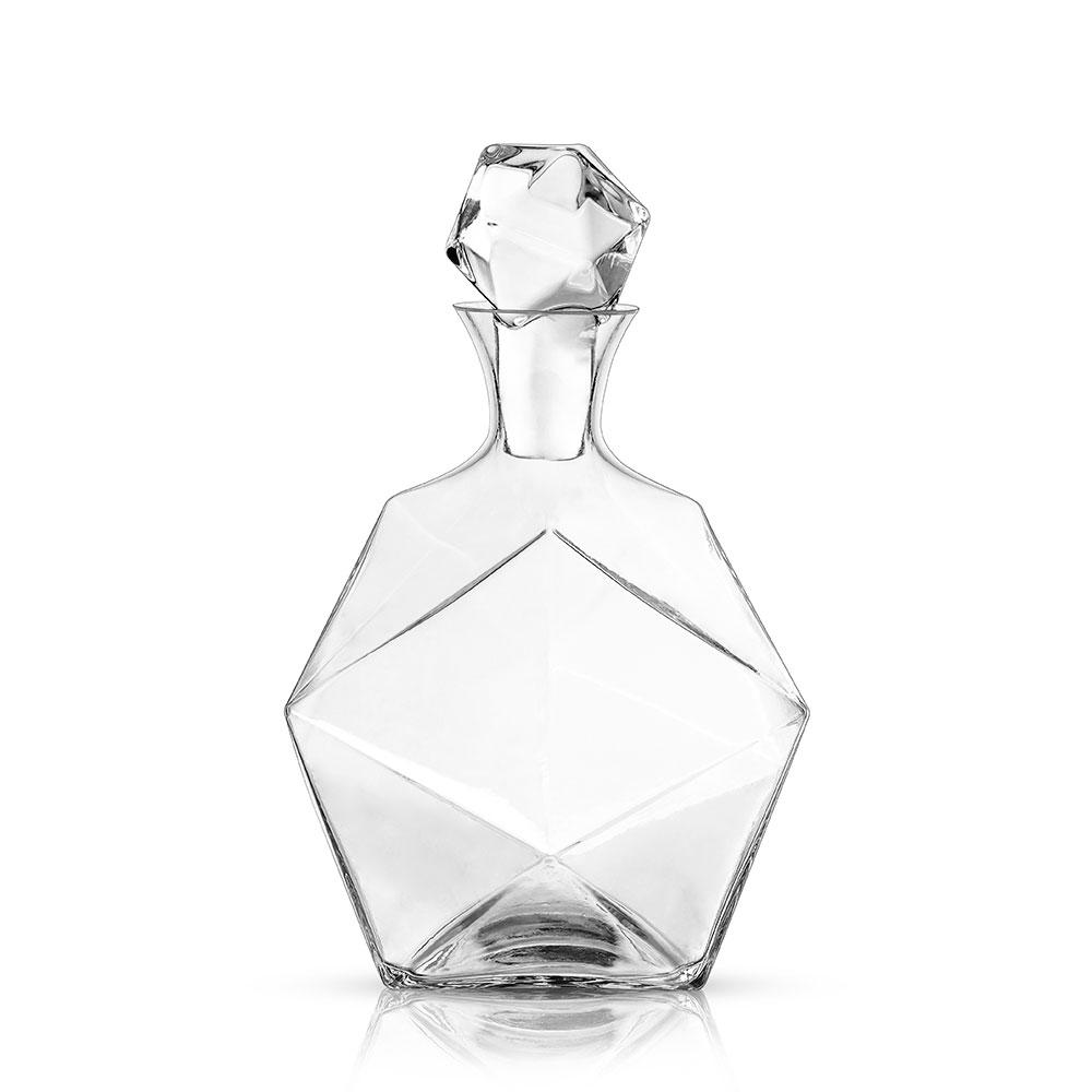 Viski Raye Faceted Crystal Liquor Decanter - Only £44.99