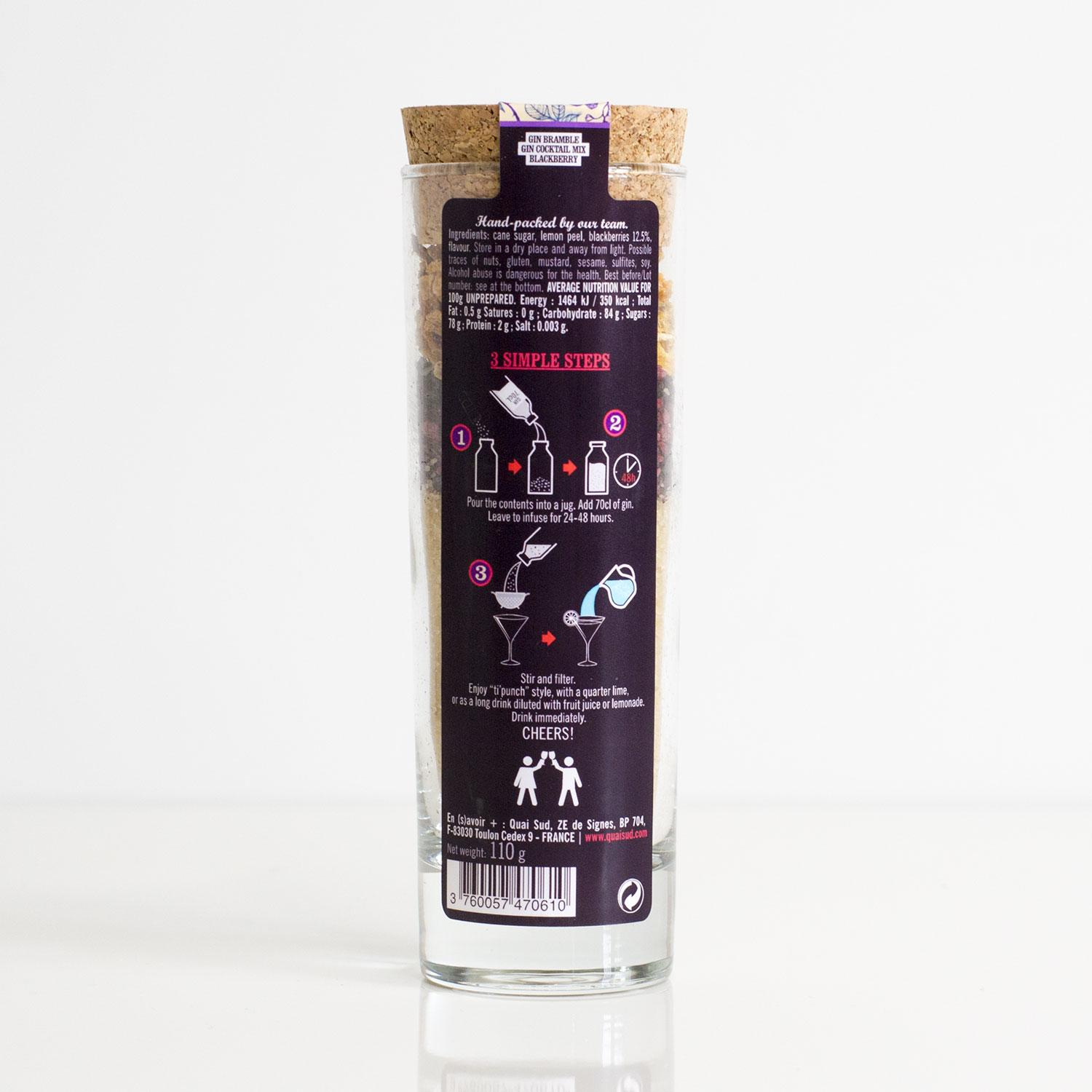 Cocktail Mix - Gin Bramble | Only £9.99 Uberstar.com