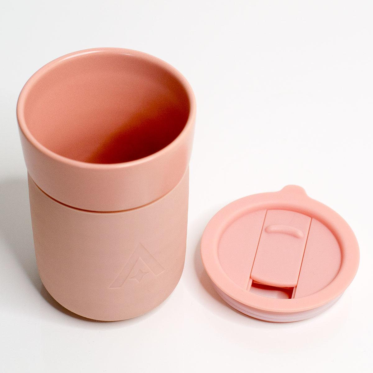 Carry Cup - The universal mug for use at home or on the move (Blush Pink)