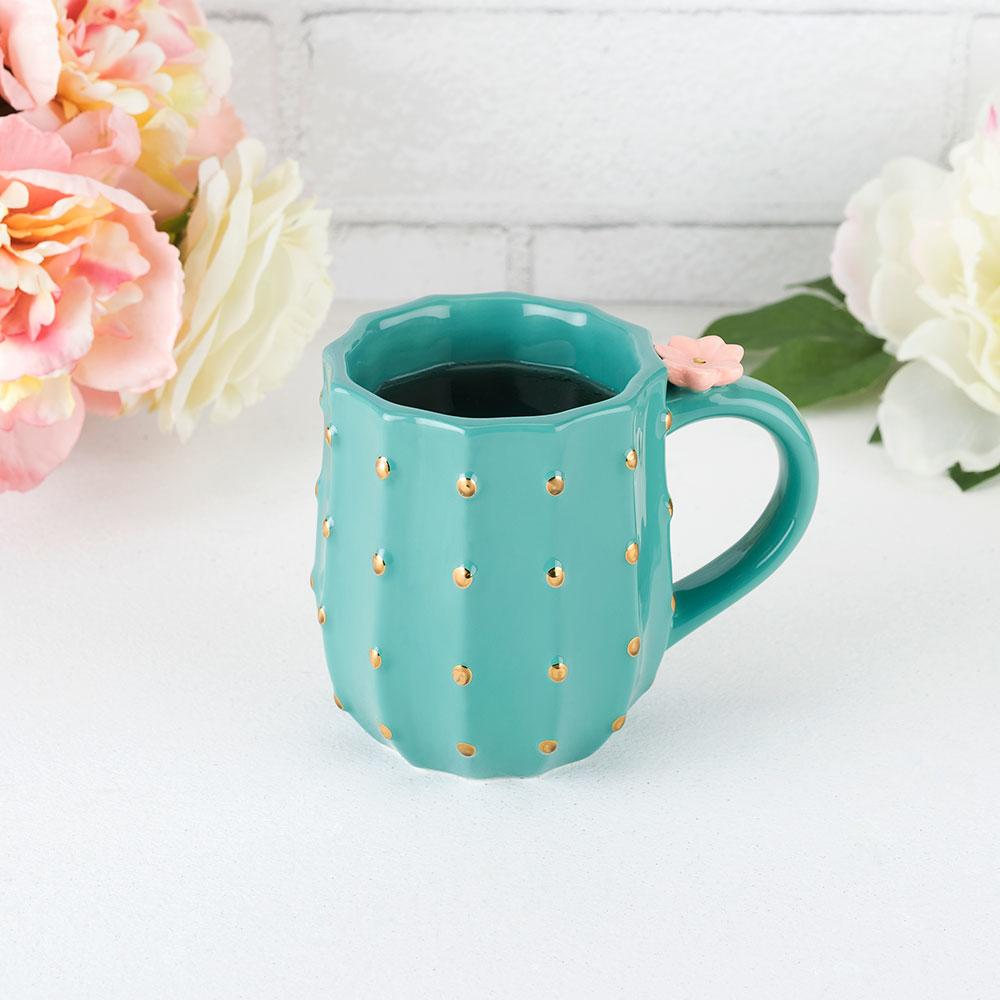 Cactus Mug by Pinky Up, Only £16.99 from Uberstar.com