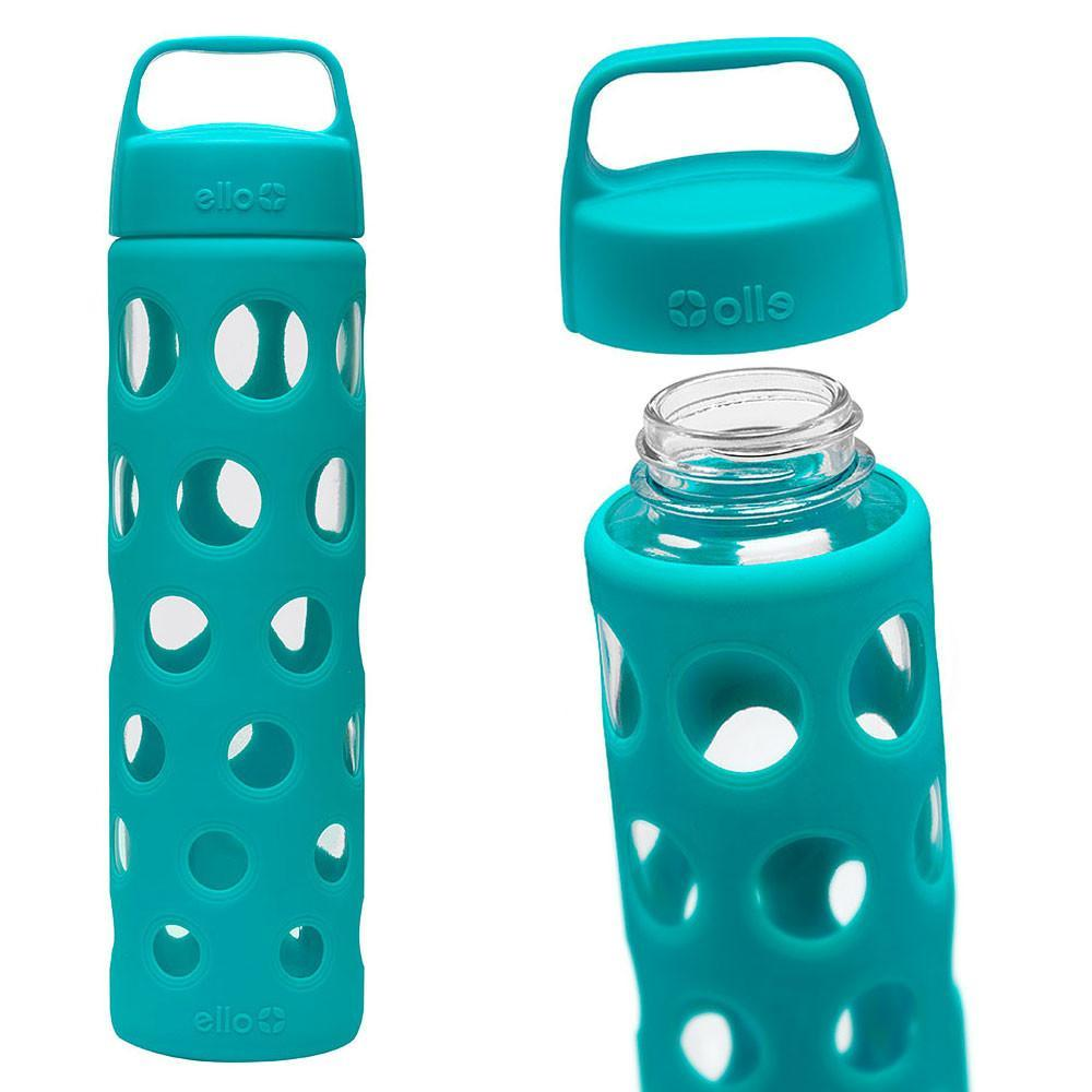 ello pure glass water bottle teal only. Black Bedroom Furniture Sets. Home Design Ideas