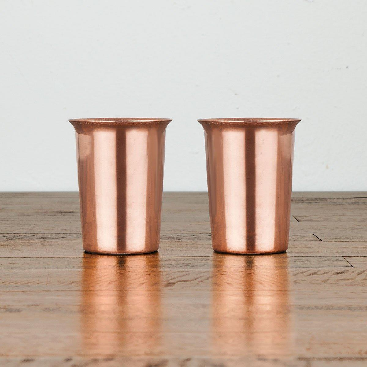 Viski Admiral Copper Shot Glasses - Only £19.99 | UBERSTAR