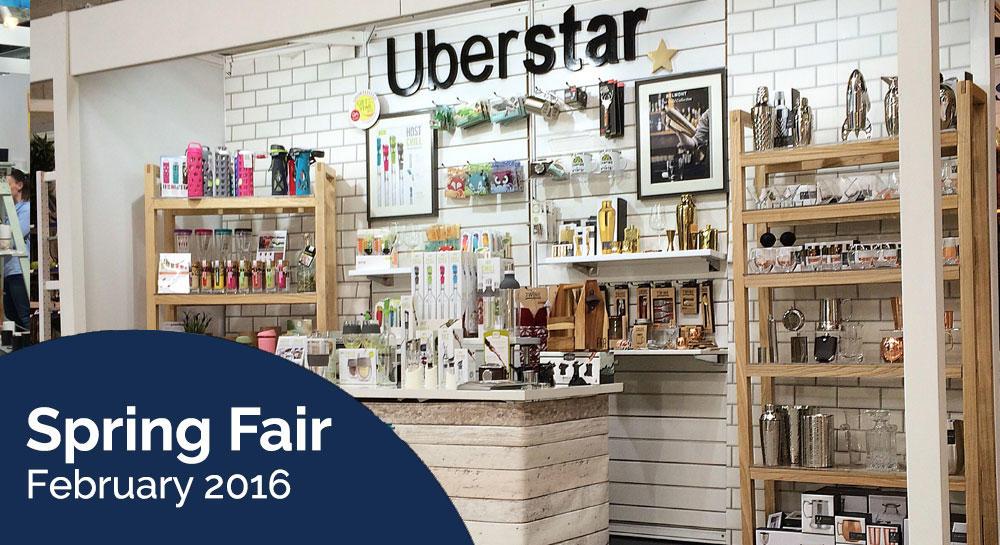 Uberstar Spring Fair Stand 2016