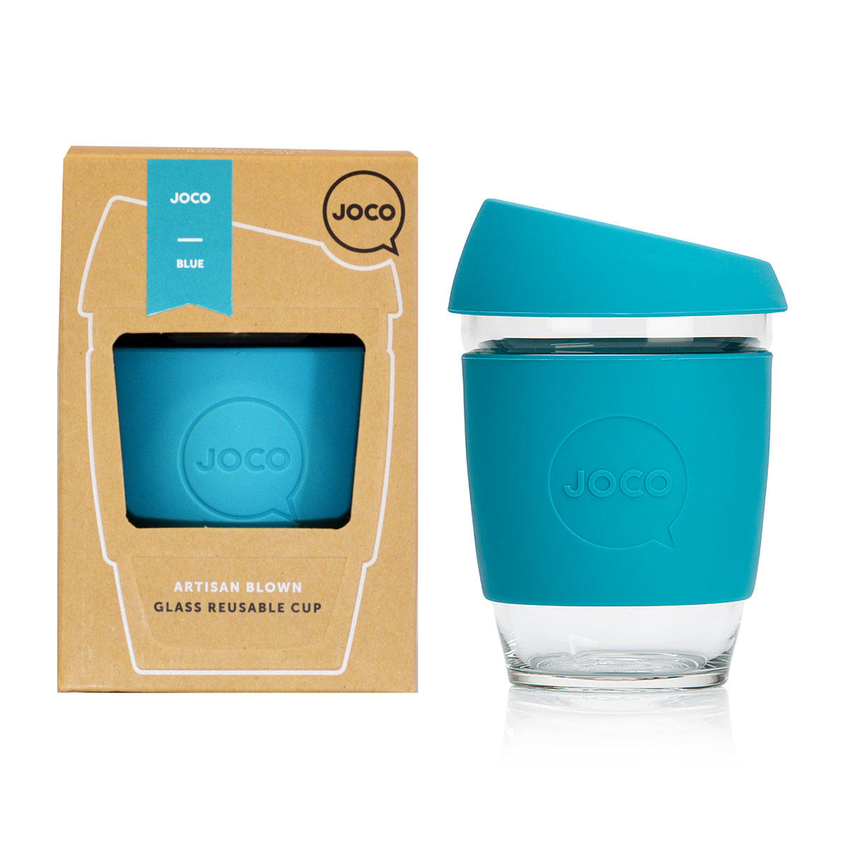 JOCO Cup - 12oz Blue Packaging