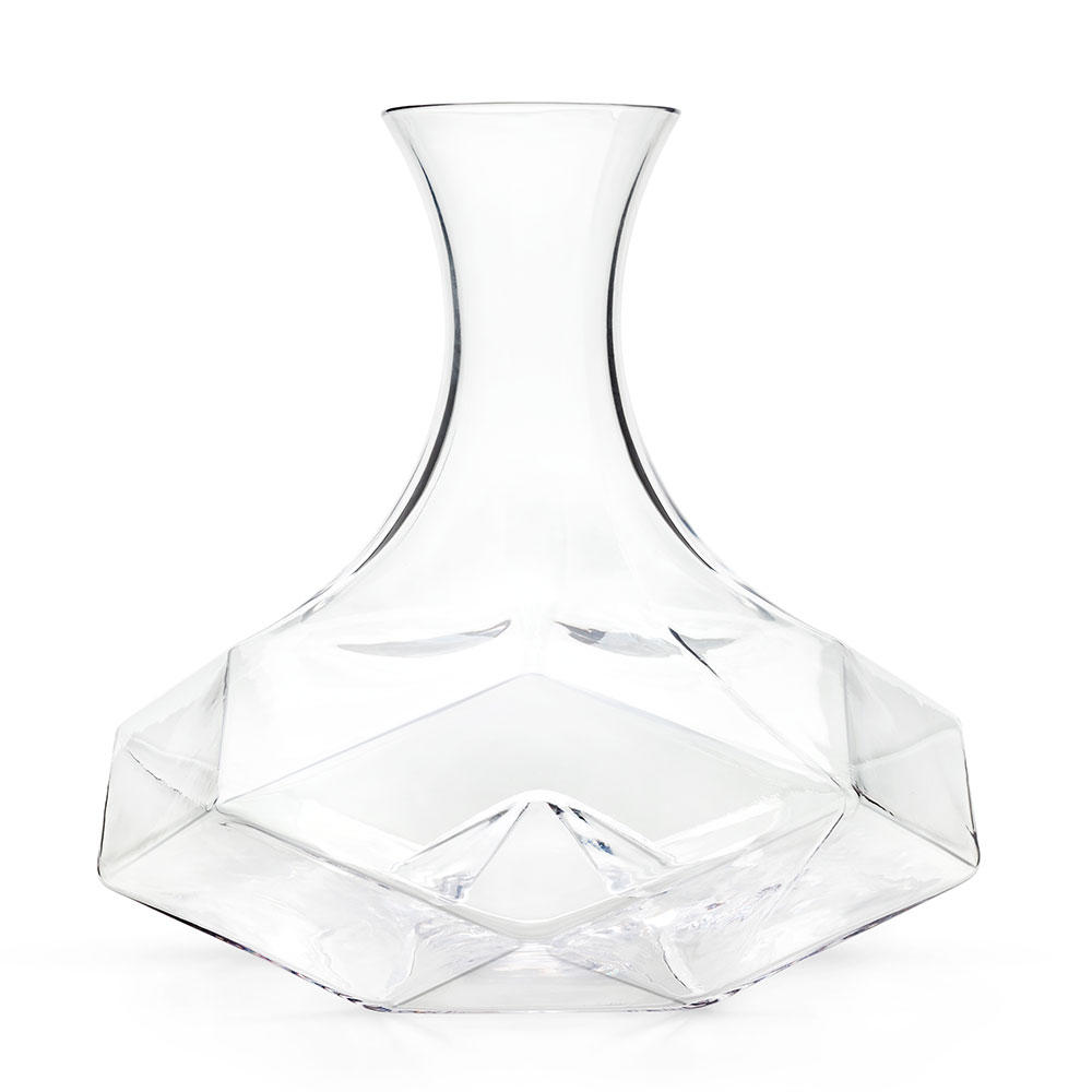 Seneca Geometric Crystal Decanter