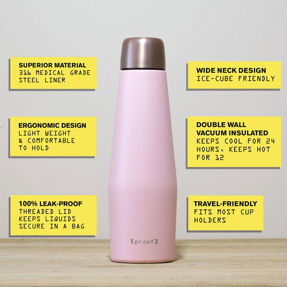Proof Superior Stainless Steel Bottle - Venus (500ml)