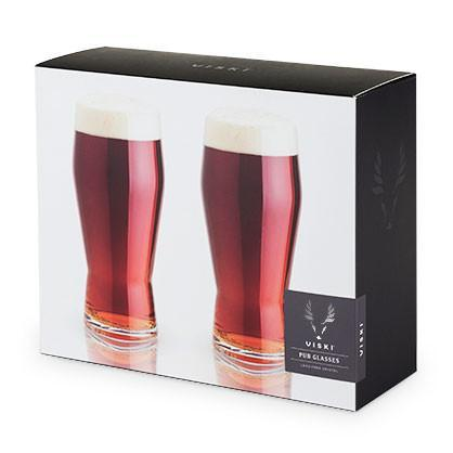 Raye Crystal Pub Glasses