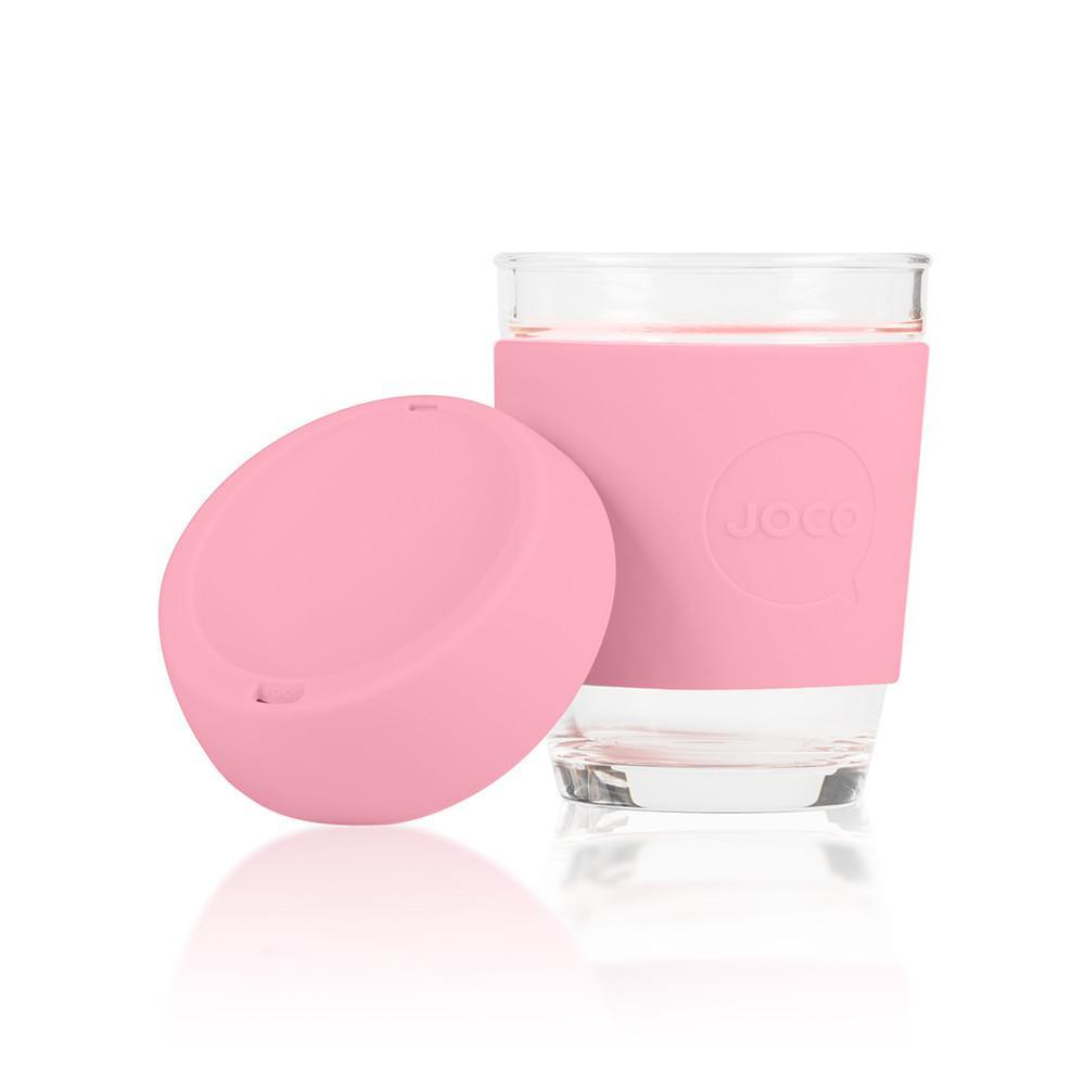 JOCO Cup Travel Mug - 12oz Strawberry Pink | Only £19.99 available from www.uberstar.com