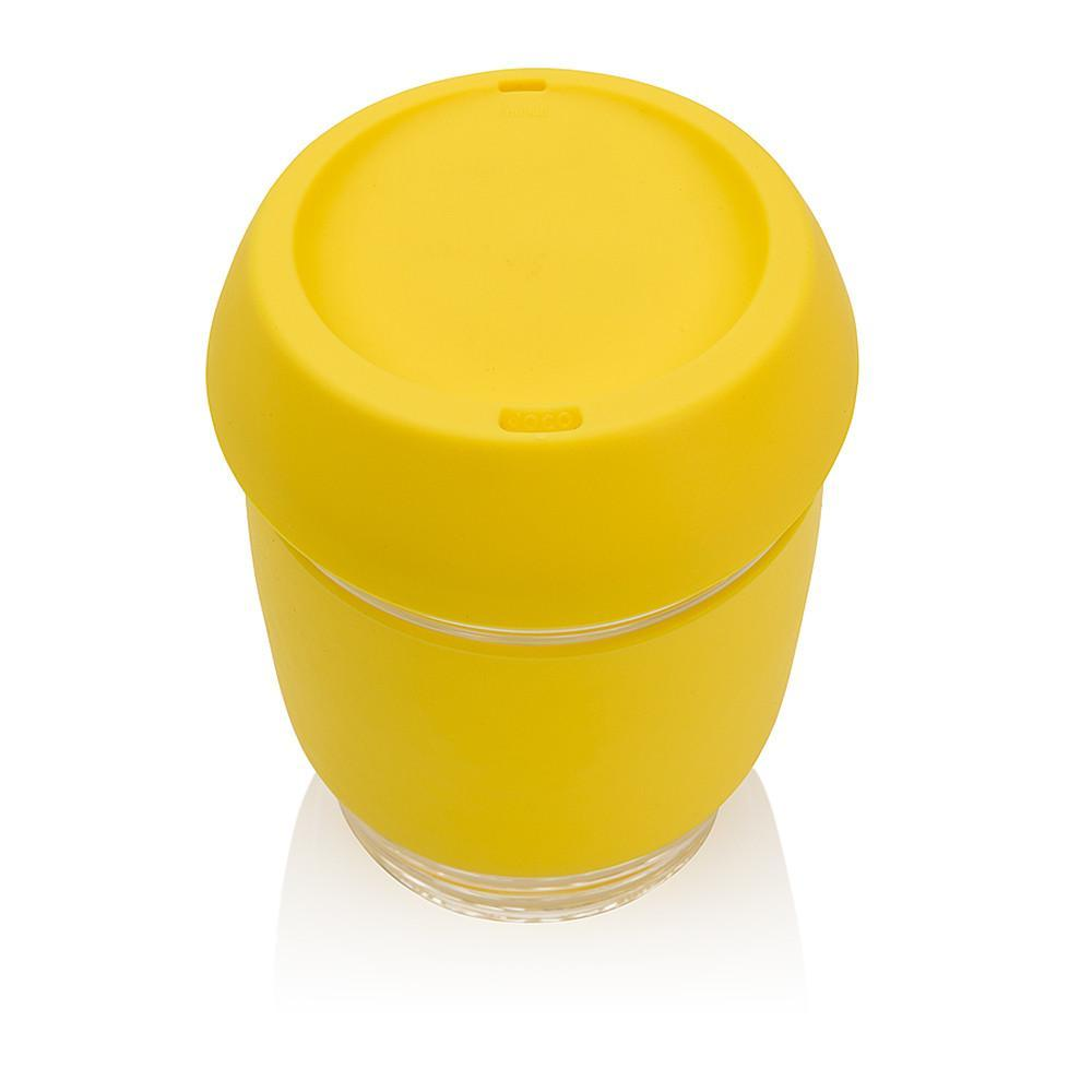 Travel Coffee Cup - Yellow