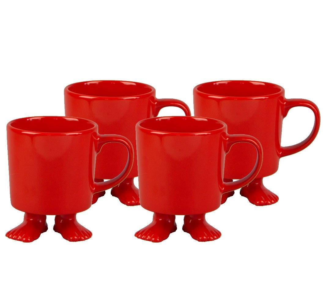 Efeet Mug Red 4 Pack