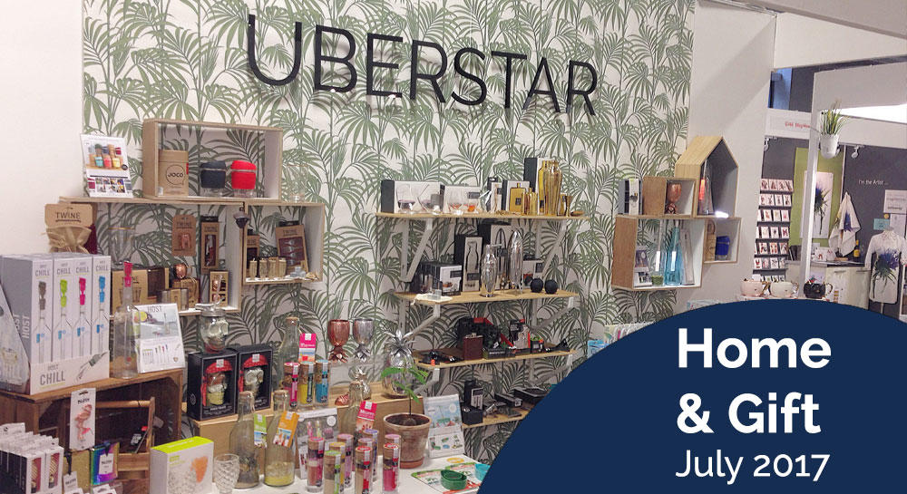 Uberstar Home & Gift Fair Stand 2017